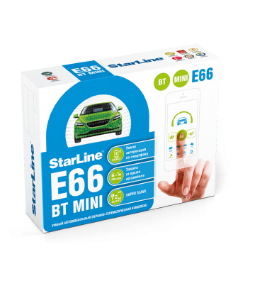 StarLine E66BT MINI-ALARMA...